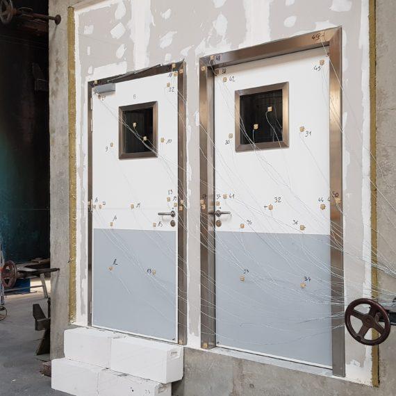 portes étanches coupe-feu battantes SPENLE