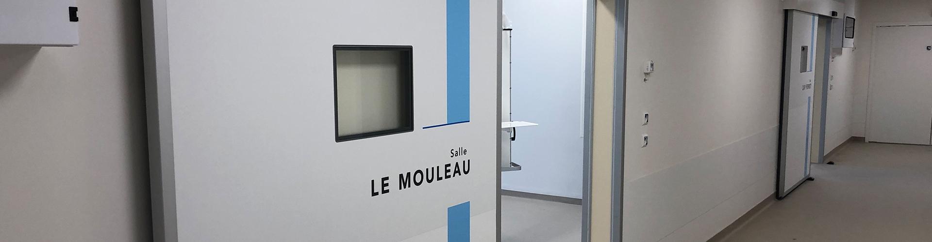 airtight hospital door