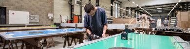 atelier de fabrication de portes professionnelles SPENLE