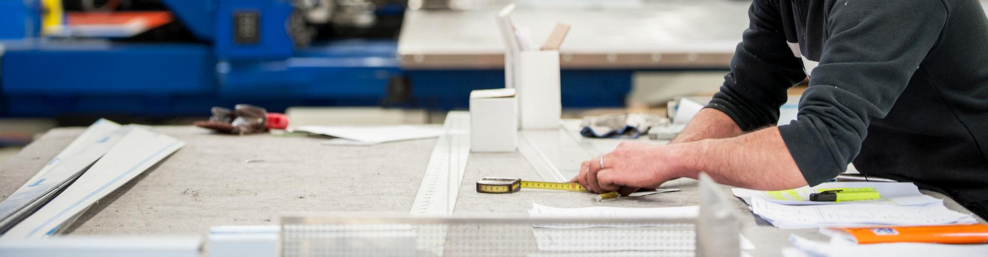 atelier SPENLE de fabrication de portes pour professionnels