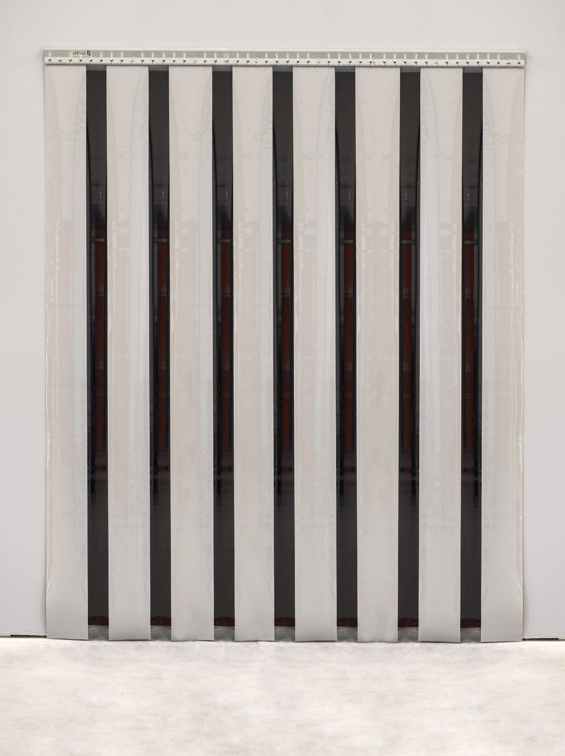 rideau à lanières blanches en PVC souple Spenle