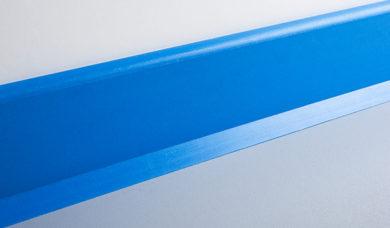 lisse murale bleu SPENLE pour milieu professionnel