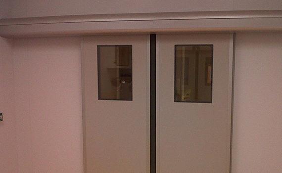 double porte coulissante SPENLE avec vitres