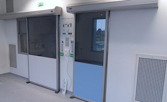 portes étanches et acoustiques SP450 STILLROOM