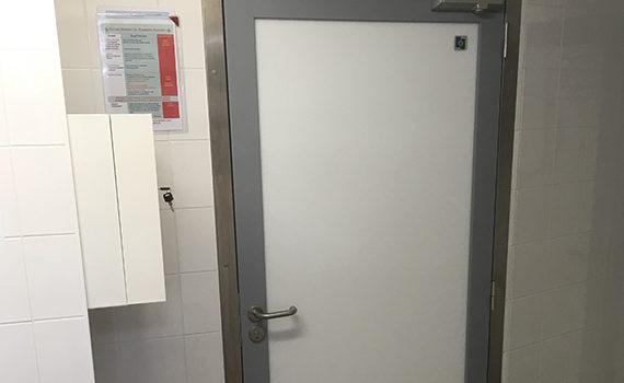 porte hydrofuge porte de service blanche résistante SPENLE